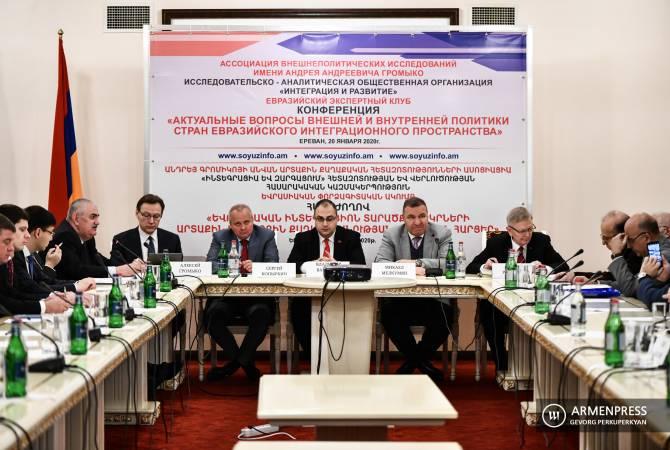Армения очень добросовестно относится к работам Евразийского интеграционного процесса
