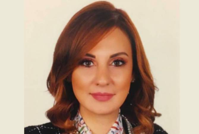 Vartine Ohanian becomes first Armenian woman serving as Cabinet member in Lebanese history