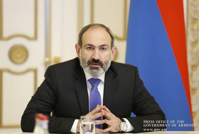 PM Pashinyan's live Facebook address