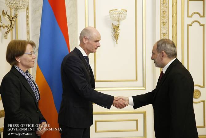 PM Pashinyan receives foreign minister of Netherlands