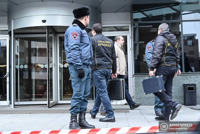 Erebuni Plaza gunman detained, criminal case initiated