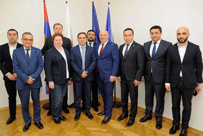 ФФА подписала меморандум о сотрудничестве с тремя членами-государствами ЕАЭС