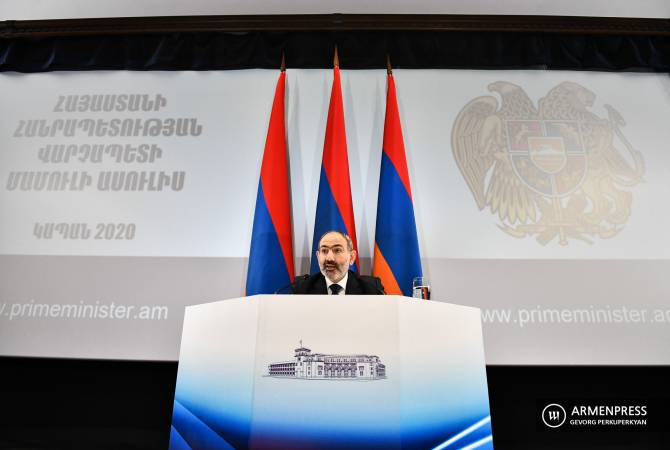 """We have crushed the backbone of the coup d'état"" – PM Nikol Pashinyan says"