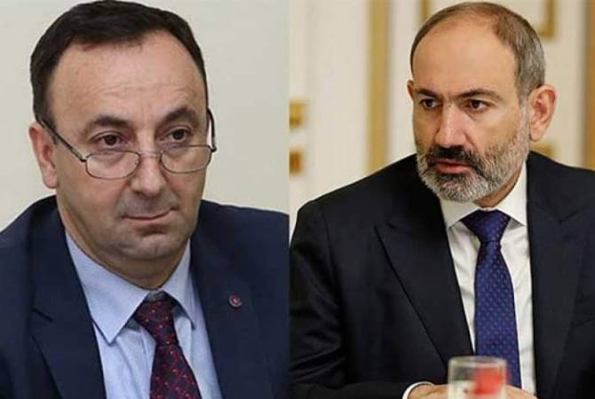 "Pashinyan reveals intelligence had briefed on top judge's attempts to collude and ""render services"""