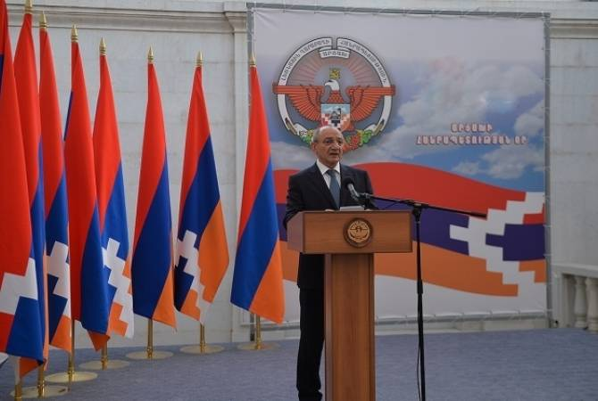President of Artsakh addresses congratulatory message on Army Day