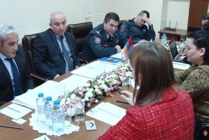 Ոստիկանության շտաբի պետն ընդունել է ԵԱՀԿ ԺՀՄԻԳ խորհրդատուներին