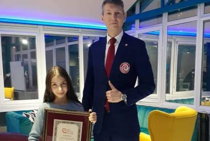 Милен Каранян: ребенок с самым большим голосовым диапазоном