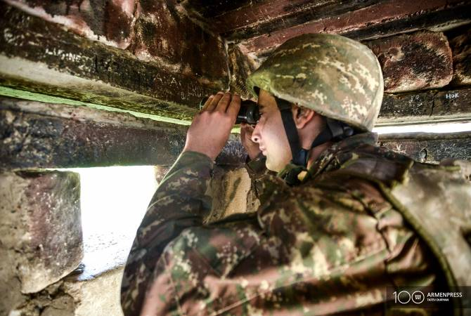 Azerbaijan breaches Artsakh ceasefire 190 times in one week