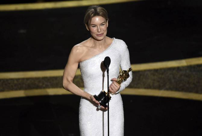 Renee Zellweger wins best actress Oscar for 'Judy'