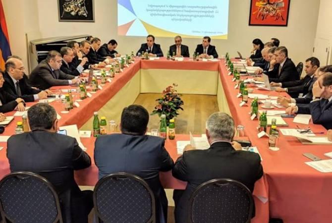 В Вене проходит встреча армянских дипломатов