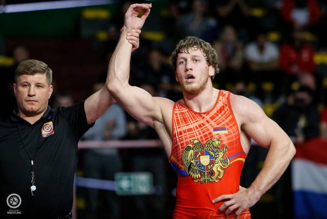 Artur Aleksanyan Wins Gold at European Wrestling Championship for Fifth Time