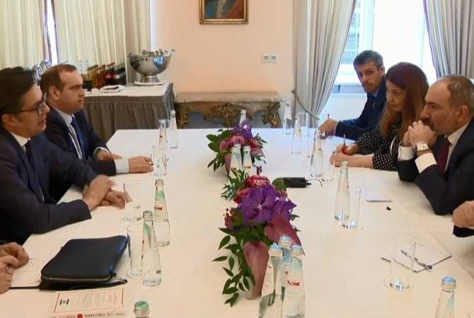 Pashinyan meets with President of North Macedonia in Munich