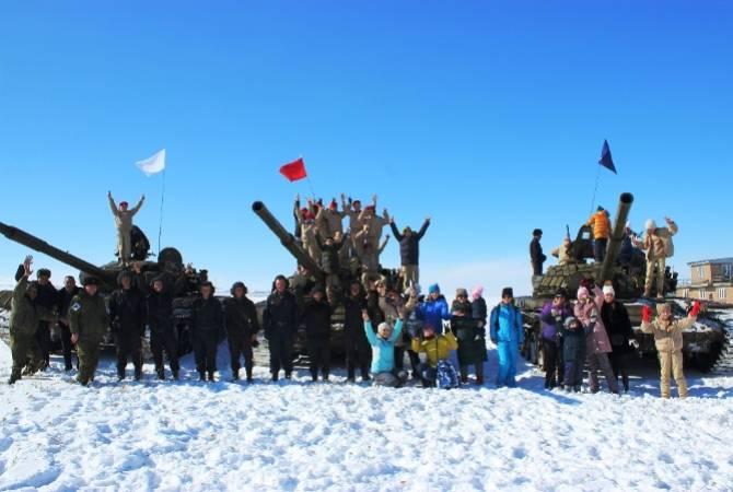 В Гюмри прошел День здоровья для военнослужащих России и Армении
