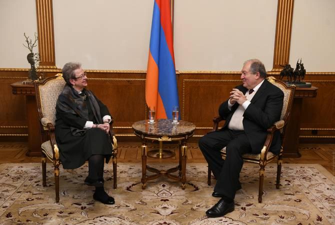 Армен Саркисян встретился с руководителем делегации ЕС в Армении
