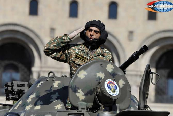 Armenia is third most militarized country in the world, according to GMI 2019