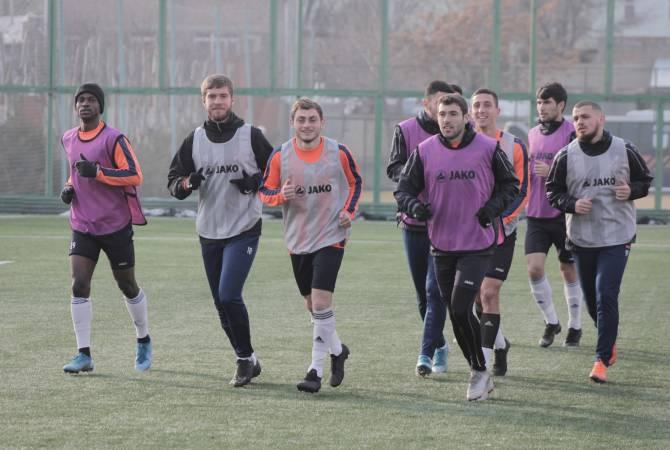 «Ուրարտու» ֆուտբոլային ակումբը վերսկսել է մարզումները