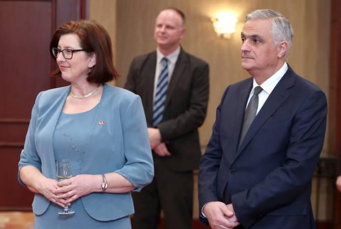 Мгер Григорян поздравил новоназначенного посла Канады по случаю вступления в должность