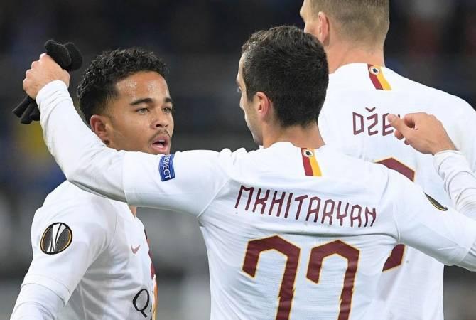 «Ռոմա»-ն Եվրոպայի լիգայի հաջորդ փուլում է. Մխիթարյանը գոլային փոխանցման հեղինակ «Գենտ»-ի դեմ խաղում
