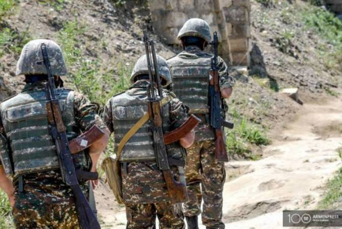 Three Armenian soldiers test positive for COVID19