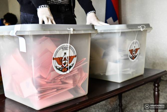 72.7% of eligible citizens of Artsakh participate in national elections