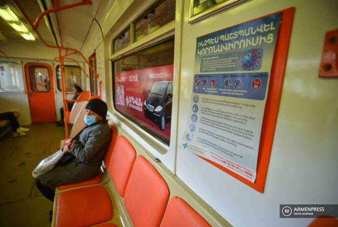 Armenia suspends public transport to combat coronavirus outbreak