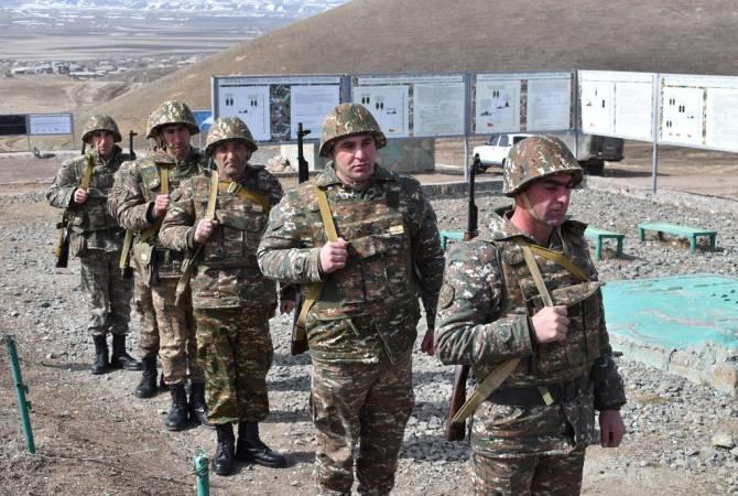 ՀՀ ԶՈՒ երեք զորամիավորումներում անցկացվել են պատրաստականության բարձրացման միջոցառումներ