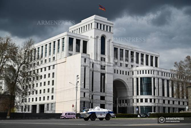 Artsakh people's right to self-determination is the base for NK conflict settlement – Armenia MFA
