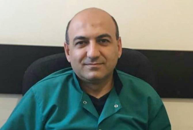 Наша работа непрерывна: доктор Вирабян уже неделю ночует в больнице Арташата