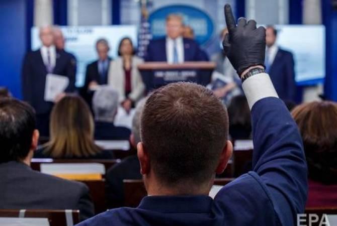 Журналистов перед брифингами Трампа обязали сдавать экспресс-тесты на коронавирус