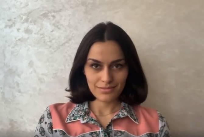 Оперная певица Рузан Манташян присоединилась к челенджу #Спасибомедработник