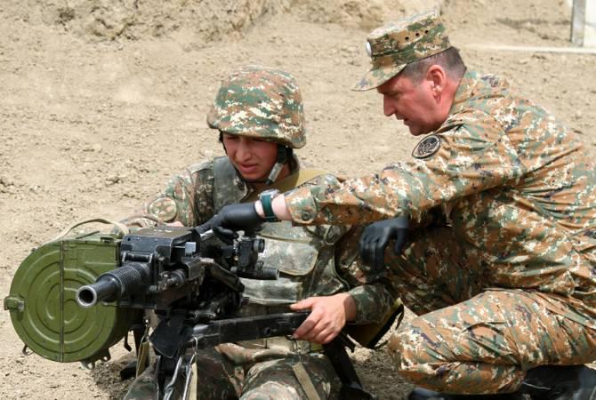 Джалал Арутюнян посетил боевые позиции
