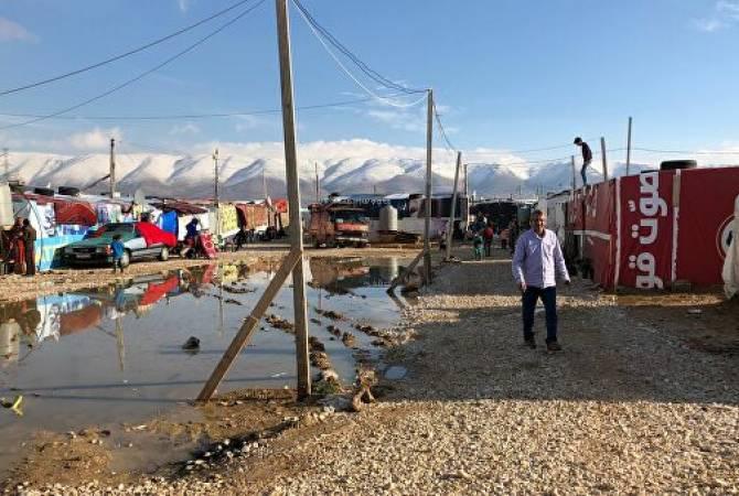 В лагере беженцев в Ливане подтвердили первый случай COVID-19