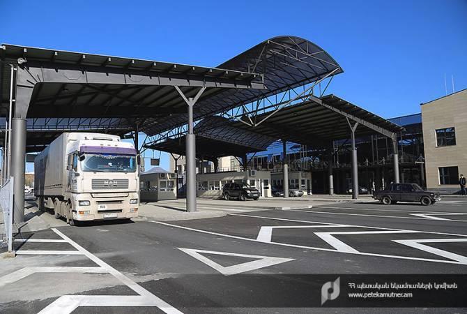 Грузия разрешила въезд из Армении грузовиков небольшой вместимости
