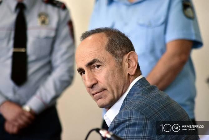 "Роберт Кочарян переведен в медицинский центр ""Измирлян"""