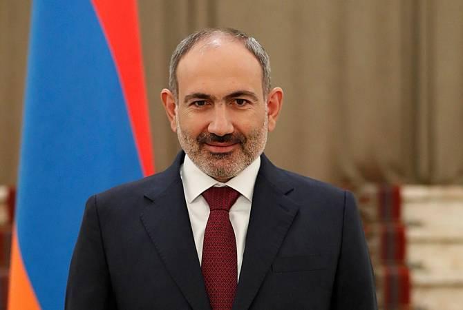 Armenian PM addresses congratulatory message on Labor Day