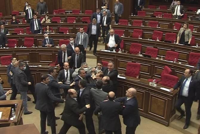 ССС готовит материалы в связи с инцидентом, произошедшим в парламенте 8 мая