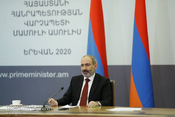 PM Nikol Pashinyan's online news conference