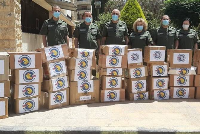 Armenian humanitarian mission delivers medical items to Aleppo's military hospital