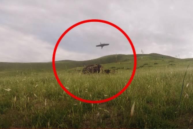 Արցախի ՊԲ-ում հարվածային անօդաչու թռչող սարք են փորձարկել