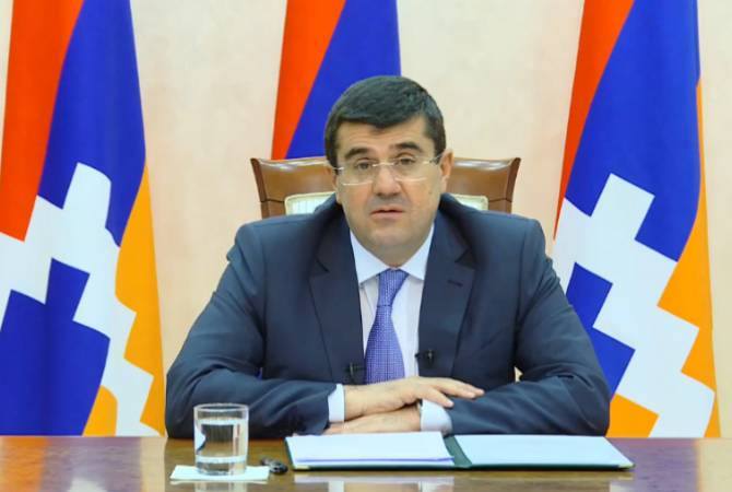 'We presented agenda of solidarity and unity', says President of Artsakh