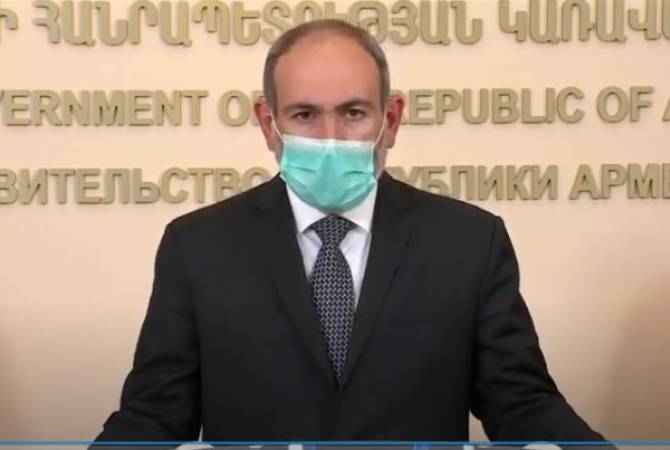 PM Nikol Pashinyan on coronavirus situation