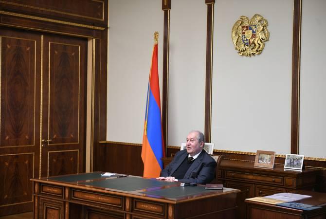 "Армен Саркисян обсудил с Сашуром Калашяном идеи создания ""Ай парка""и парка им. Гюрджиева"
