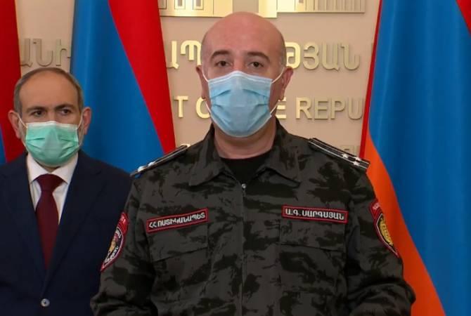 ՀՀ ոստիկանությունը միջմարզային ճանապարհներին տեղադրել է անցակետեր