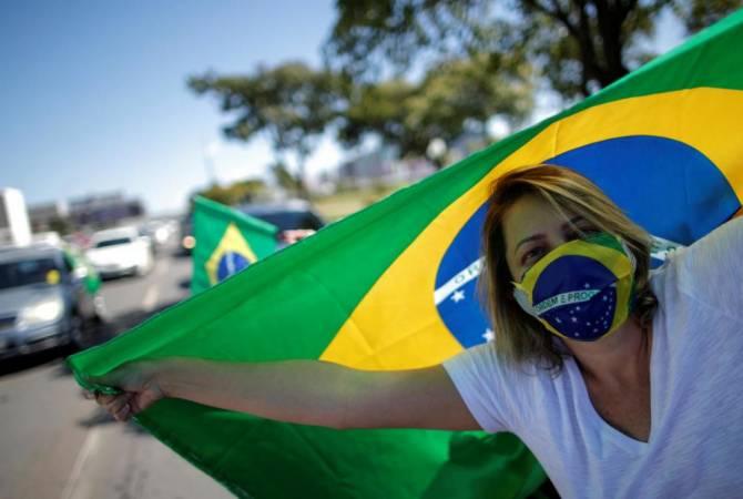 COVID-19. В Бразилии более полумиллиона случаев заражения: СВЕЖИЕ ДАННЫЕ
