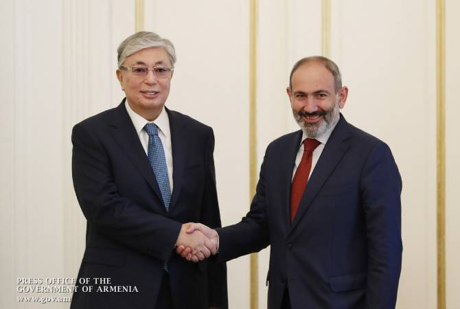 President of Kazakhstan congratulates PM Pashinyan on birthday