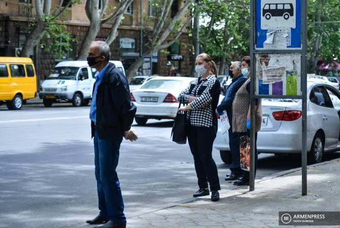 Armenia makes wearing masks in public places mandatory