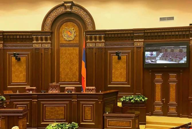 Armenian parliament halls ready for remote sessions