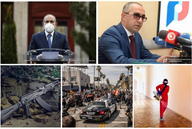 ARMENPRESS sums up key events of the week