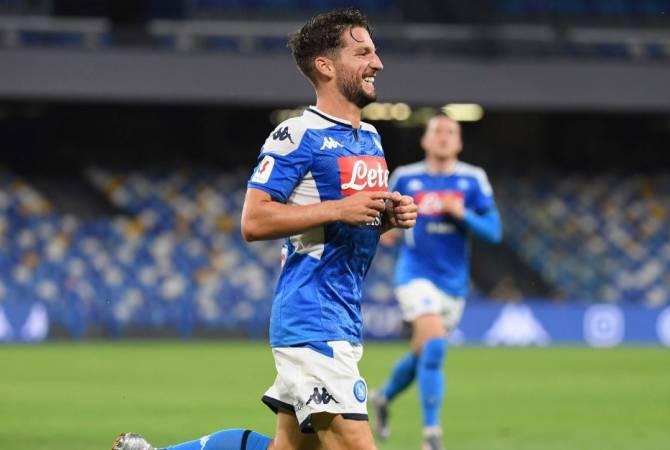 Napoli вышел в финал розыгрыша Кубка Италии