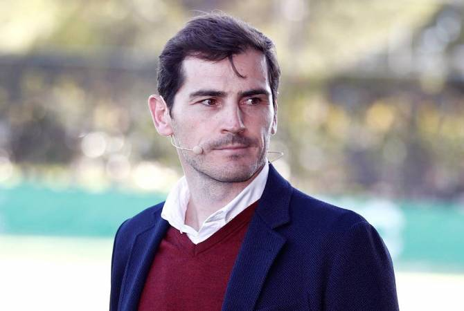 Икер Касильяс снял свою кандидатуру с выборов президента испанской федерации  футбола